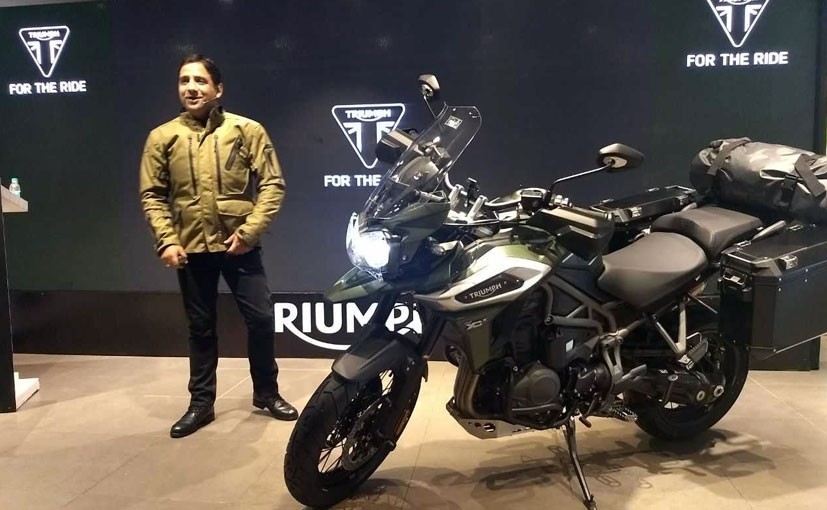 Triumph has only launched the mid-variant of the Tiger 1200 - the XCX in India