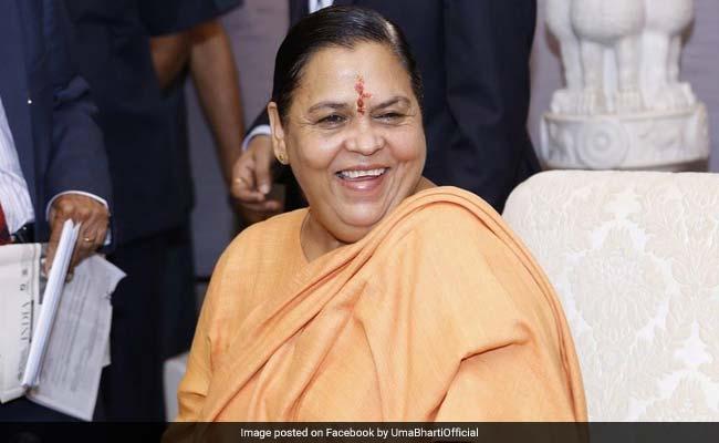 केंद्रीय मंत्री उमा भारती ने कहा- गंगा सफाई के बाद बाकी नदियां भी कहेंगी #MeToo