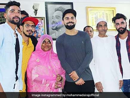 Virat Kohli hugged and consoled me when I was crying at my hotel room in Australia says Mohammed Siraj