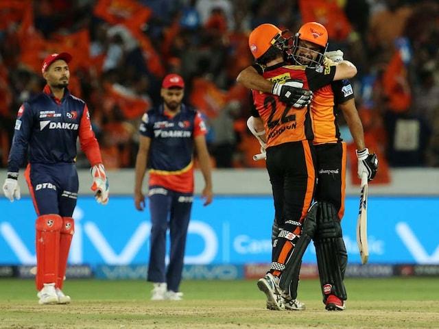 IPL 2018: Kane Williamson, Yusuf Pathans Late Blitz Takes SunRisers Hyderabad To The Top