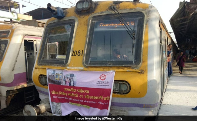 'World's First' Women's Special Train Completes 26 Years