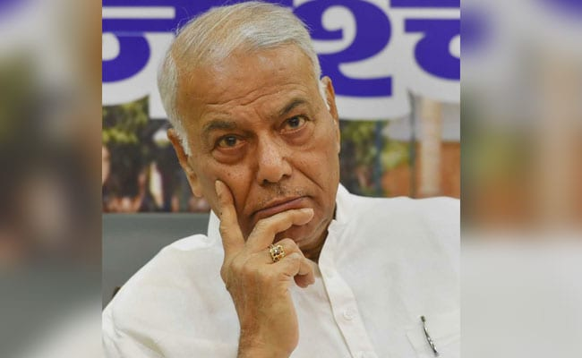 In Karnataka Elections, Yashwant Sinha Sees A 'Rehearsal For 2019'