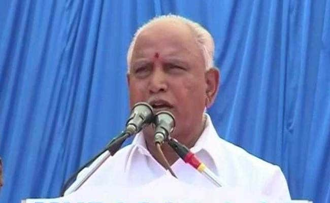 कांग्रेस कर्नाटक में जनादेश को पलटने की कोशिश कर रही है : येदियुरप्पा