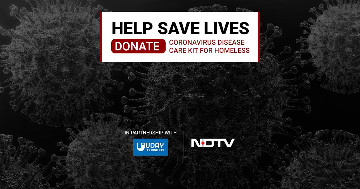 Save A Life. Donate Coronavirus Disease Care Kit