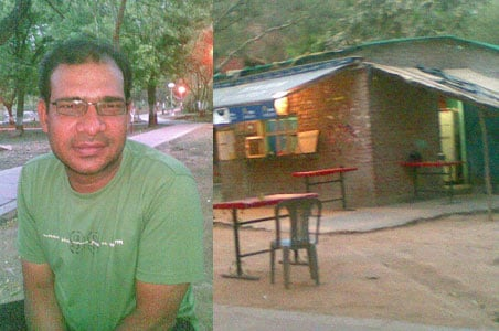 A PhD scholar from JNU runs dhaba