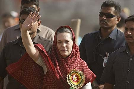 Sonia goes ballistic; tears into SP, BSP and BJP alike