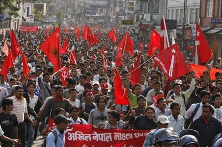 Nepal Maoists blame India for crisis