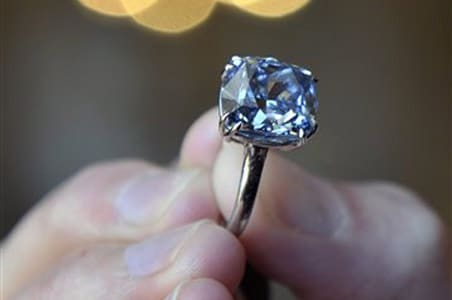 Rare Blue Diamond Auctioned For $84 Million. Japanese Rings. Radiant Cut Engagement Rings. Curved Rings. Tacky Wedding Rings. Thumb Rings. Biker Rings. Soldered Rings. Oxidized Rings