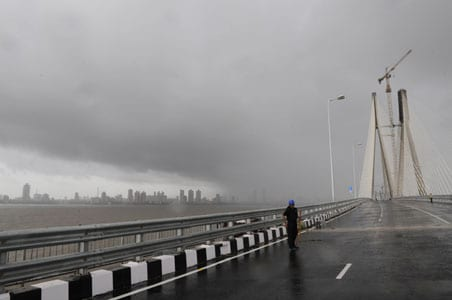 How the Mumbai sea link was built