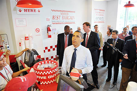 Obama can cook Keema, Dal; admires great cricket players