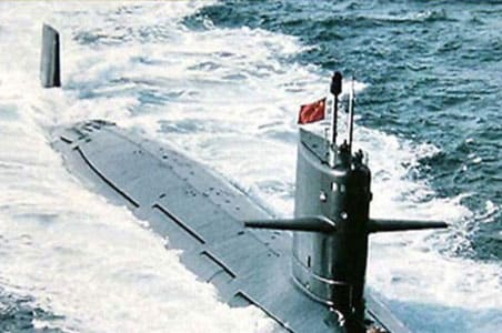 India's first nuke submarine INS Arihant launched
