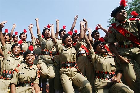 PC takes salute from 1st batch of women BSF recruits