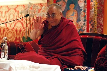 Tawang prepares to receive the Dalai Lama