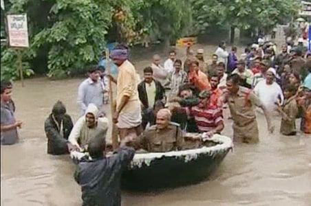 Andhra Pradesh: Worst floods in 10,000 years