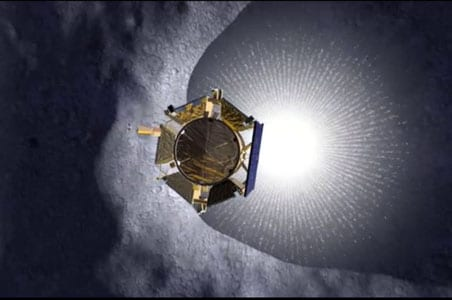 NASA bombs the moon, no big splash