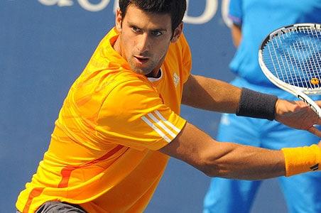 Novak Djokovic into second round at China Open