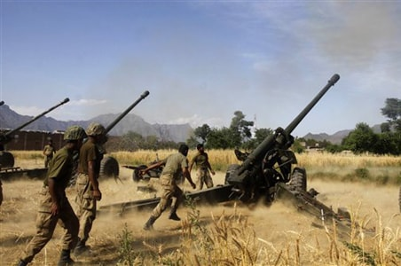 Pak Army hits back, targets militant in South Waziristan
