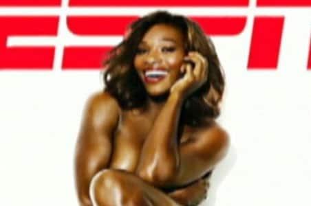Serena 'loves' her ESPN nude cover shot