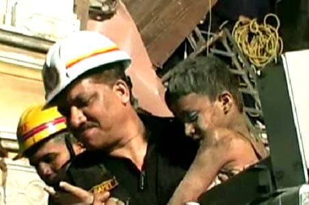 Dramatic rescue for a family in Surat
