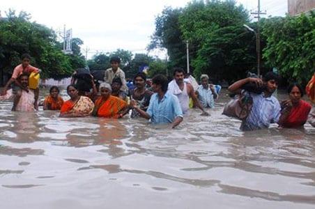 Andhra: 18 lakh people, 400 villages affected