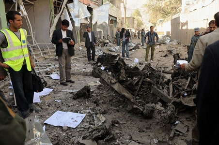 Kabul's Indian Embassy attacked, Taliban says 'we did it'