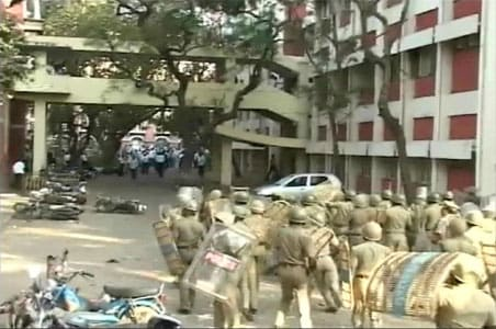 Police held guilty in Madras High Court clash