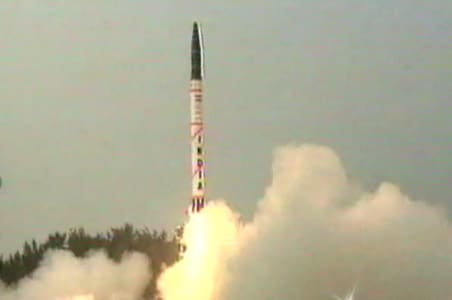 Nuclear-capable Prithvi II test-fired