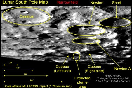 NASA tries to confirm presence of water on moon