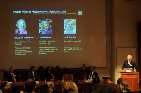 US trio win Nobel Medicine Prize