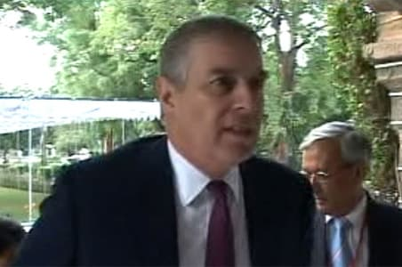 Prince Andrew visits Mayo College, Ajmer