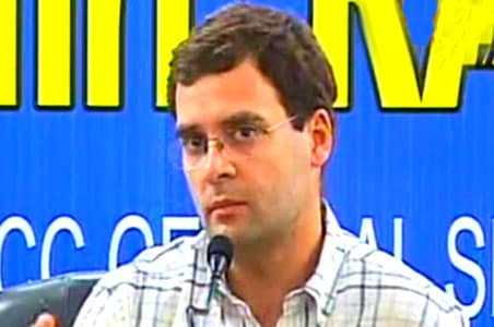 Rahul Gandhi's dinner lands this cop in trouble