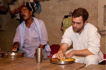 Rahul Gandhi on the sleepover controversy