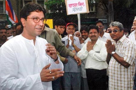 Election Commission files case against Raj