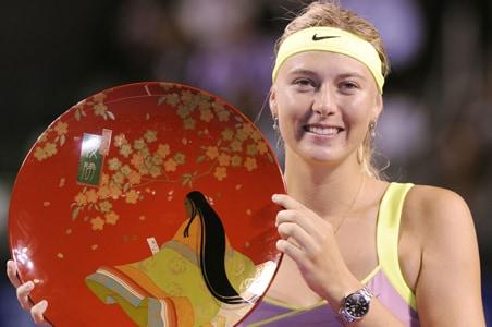 Sharapova beats Jankovic to win Pan Pacific Open