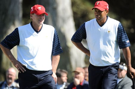 Woods & Stricker first unbeaten team in 30 years