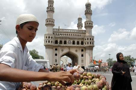 Charminar, Hyderabad's Symbol, Damaged As Chunk Of Pillar Falls