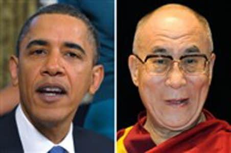 Dalai Lama doesn't fault Obama for low-key meeting
