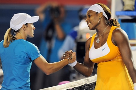 Federer, Serena undisputed king and queen