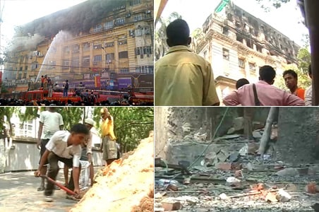 Kolkata fire: Court stops demolition of Stephen Court