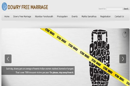 Kerala village goes online for dowry-free marriages