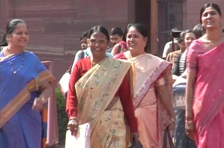 Congress, BJP issue whip for Women's Reservation Bill