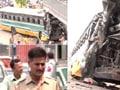 Blueline bus rams into pillars, 9 passengers injured