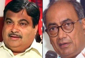 Digvijay hits back at Gadkari for Aurangzeb comments
