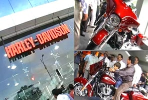 Harley-Davidson opens first outlet in India