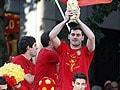 Spain goes wild, erupts in biggest fiesta in living memory