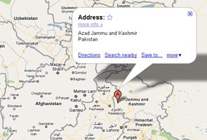 Notice to Google for showing PoK as part of Pakistan