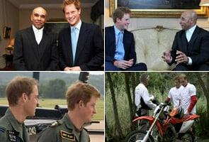 Prince Harry 'hooked on yoga'
