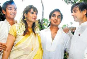 'Welcome to the family, Amma', Tharoor's sons welcome Sunanda