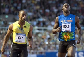 Gay beats usain bolt