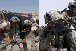 Kandahar: Dramatic footage of US troops in live combat